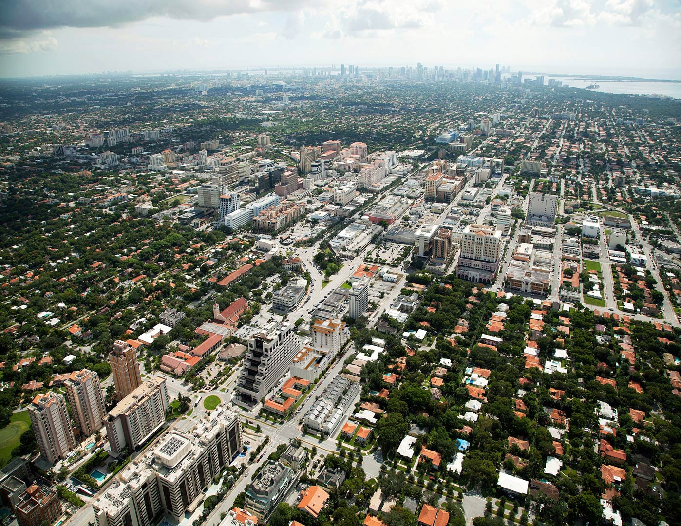 Residential location in Miami - Aerial Image